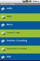 Screenshot of DSCC 2011