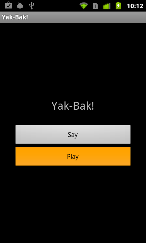 Yak Bak Lite- screenshot