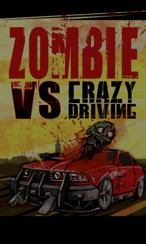 Zombie VS Crazy Driving - screenshot