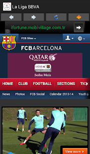 La Liga BBVA in Spain - screenshot thumbnail