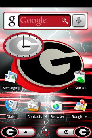 Georgia Bulldogs Theme - screenshot