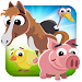 Farm Hay Animals Icon