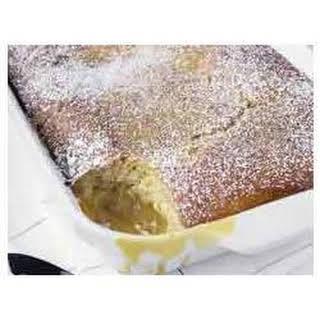 Warm Winter Lemon Cake.