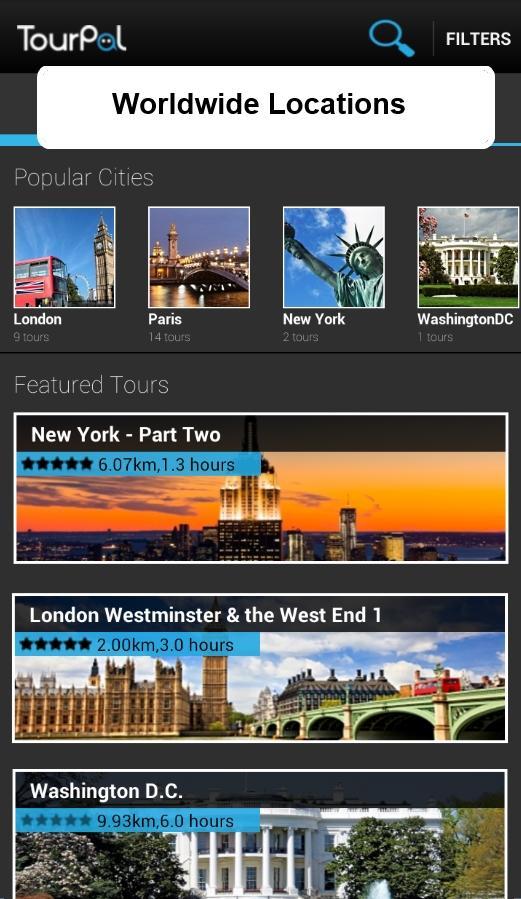 Travel guide / City Tour Guide - screenshot