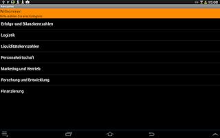 Screenshot of BWL Kennzahlen Free