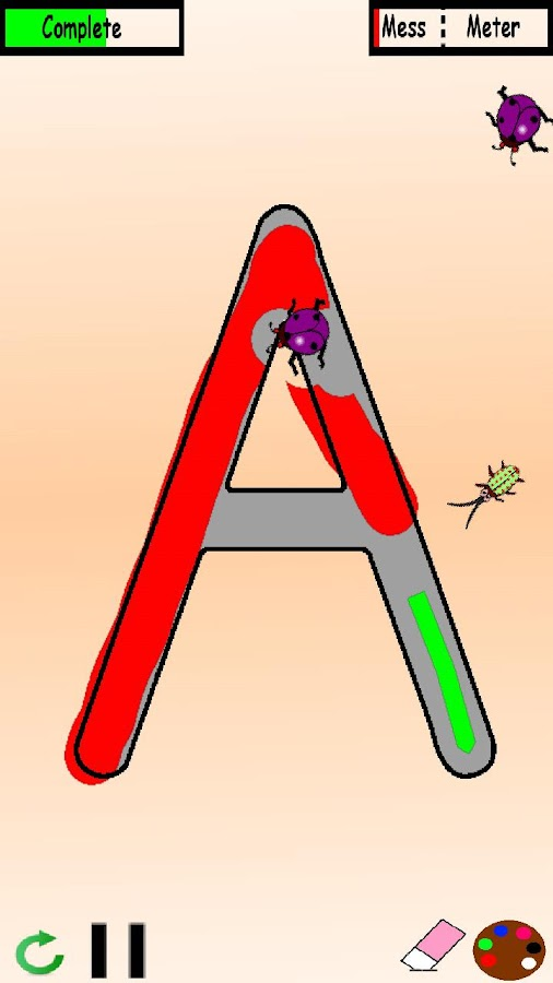 AlphaBugs:Alphabet Draw Trace - screenshot