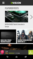 Screenshot of NVISION News App for Android