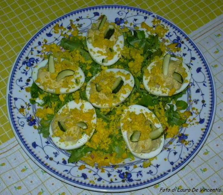 Mimosa Eggs Recipe