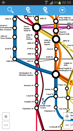 New York Metro Map