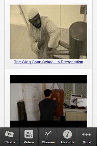 The Wing Chun School - screenshot