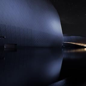 by Kim Borup Matzen - Buildings & Architecture Statues & Monuments ( water, building )