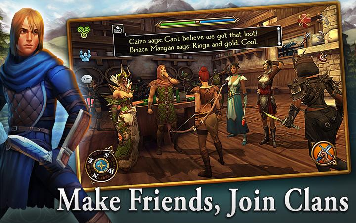 android 3D MMO Celtic Heroes Screenshot 14