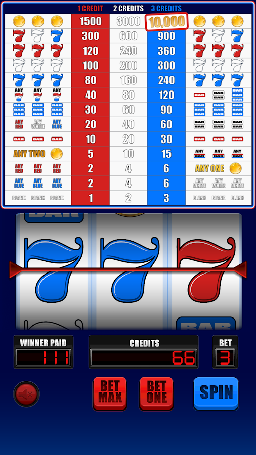 7s and Bars Slots - Free Play & Real Money Casino Slots