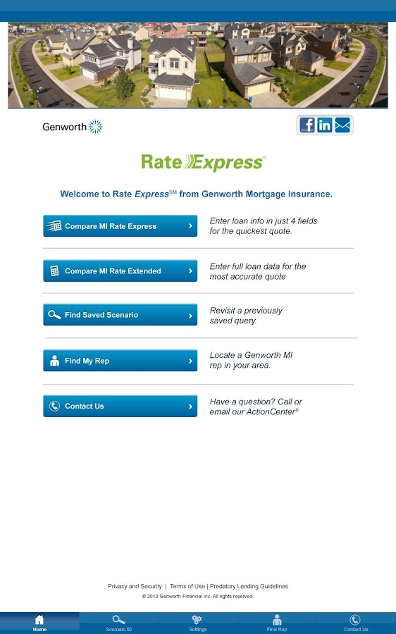 Genworth Mortgage Insurance - screenshot