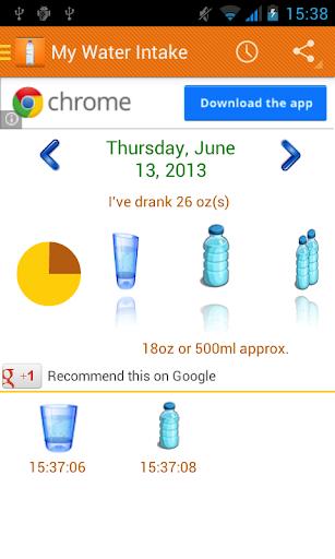 My Water Intake
