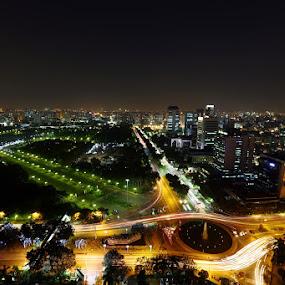 by Wawan Adi - City,  Street & Park  Night