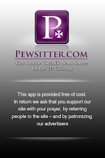 Pewsitter Catholic News - screenshot thumbnail