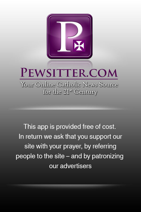 Pewsitter Catholic News - screenshot