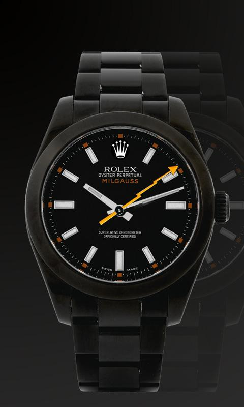 Rolex Watch Live Wallpaper - screenshot