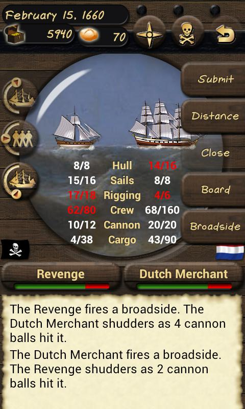 Pirates and Traders - screenshot