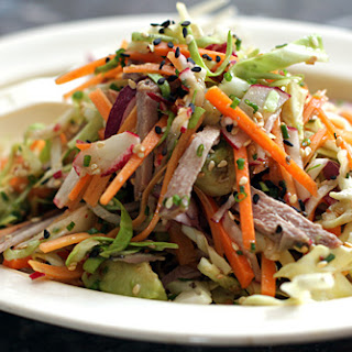 Cole Slaw with Wasabi Dressing.