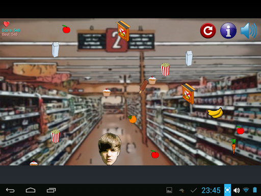 Justin Bieber Grocery Shopping