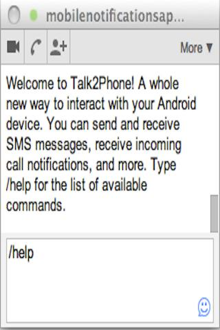 Chrome ↔ SMS Texting FREE - screenshot