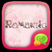 GO SMS ROMANTIC THEME