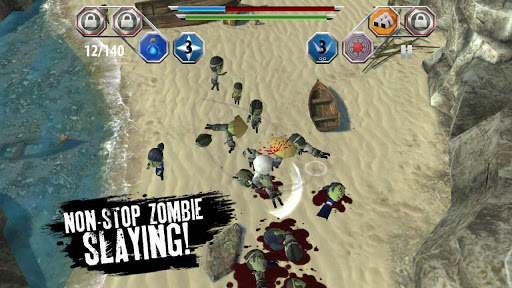 "Игра ""Finger Ninjas: Zombie Strike-Force"" для планшетов на Android"