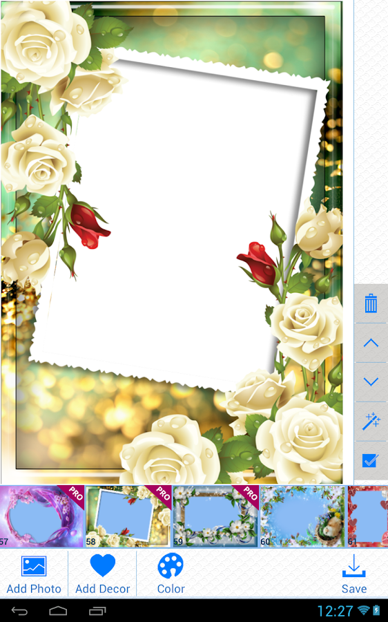Lovely Photo Frames Pro - screenshot