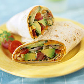 Low Calorie Veggie Wrap Recipe