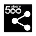 re:share for 500px icon