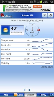 Intellicast Weather - screenshot thumbnail