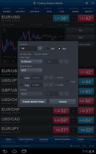 FXCM Trading Station Tablet- screenshot thumbnail