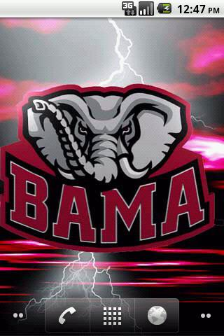 Alabama Crimson Tide LWP - screenshot