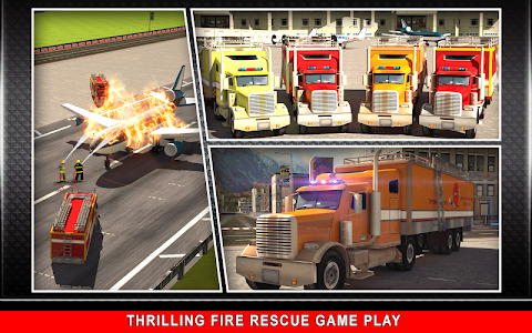 911 Rescue Fire Truck 3D Sim v1.0.5 Unlocked