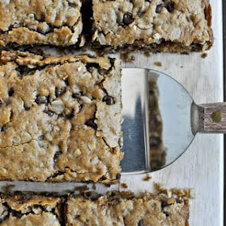 Oatmeal Peanut Butter Squares.