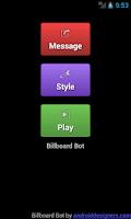 Screenshot of Billboard Bot