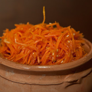 Carrots Korean Style