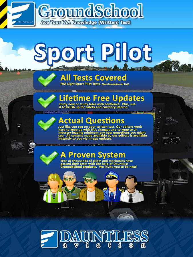 FAA Sport Pilot Test Prep- screenshot