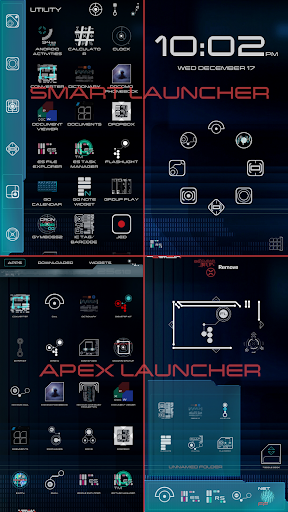 Screenshot for ✦ TREK ✦ Launcher in United States Play Store