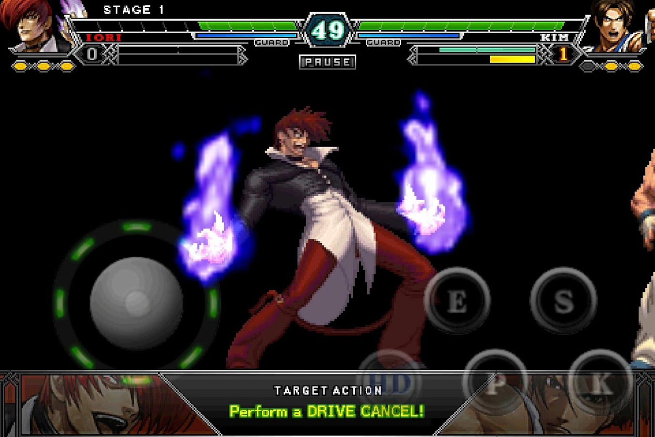 THE KING OF FIGHTERS-A 2012 - screenshot