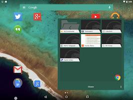 Screenshot of Action Launcher 3