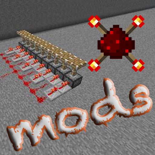 Redstone Mod (MCPE Mod) LOGO-APP點子