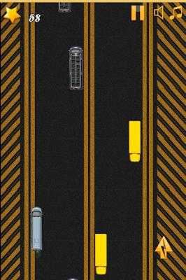 Red Bus Highway Game - screenshot