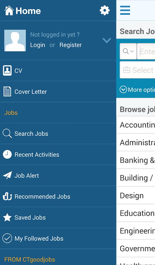 CTgoodjobs - screenshot