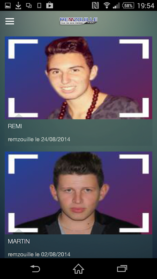 Remzouille Radio- screenshot