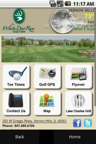 White Deer Run Golf Club- screenshot