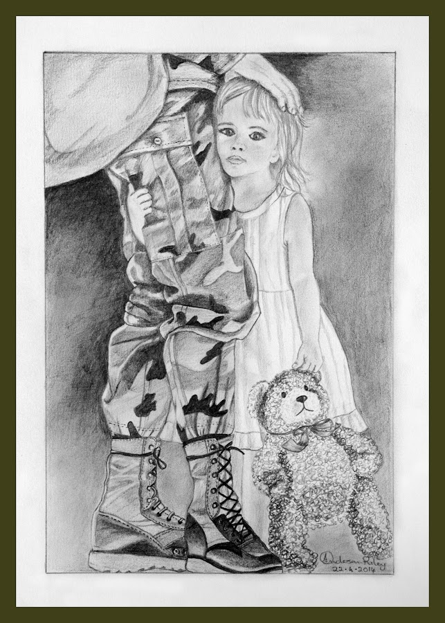 Goodbye to Daddy by Ingrid Anderson-Riley - Drawing All Drawing (  )