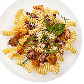 Apple-and-Sausage Fusilli